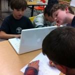 Kids hard at work!