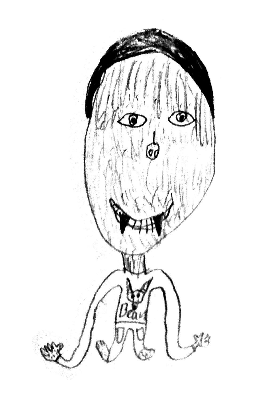 """""""Bean the werewolf baby"""" by Jarrett"""