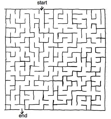 big maze by Calder