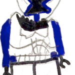 Blue clone trooper by Grail