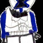 Blue clone trooper by Grail