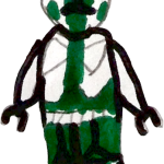 Green clone trooper by Grail