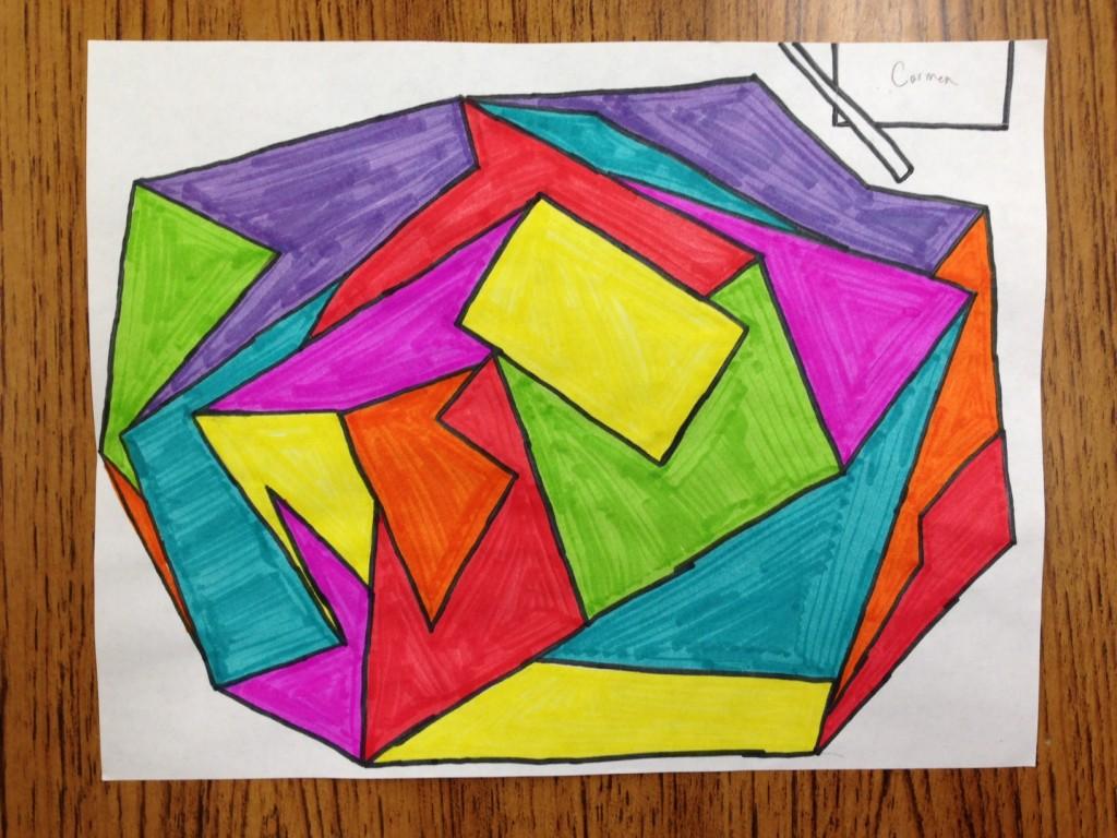 math art by Carmen